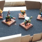His first warband