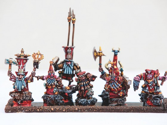Infernal Dwarves, Enanos Caos