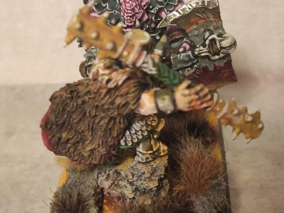 Ninazu, Niub Ziggurath's Overlord, vs Sparth'Arkh, orc slave's revolutionary leader