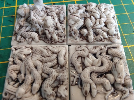 casted custom Snake Swarms