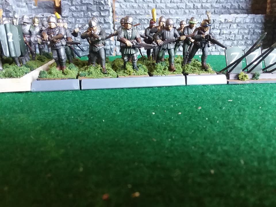 Uradel's Army - Handgunners