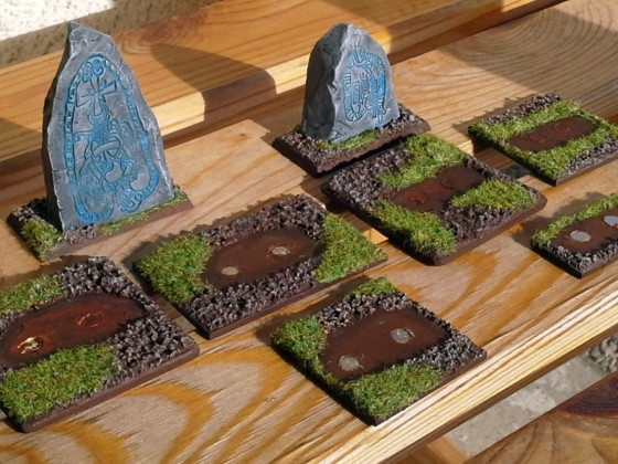 Rune Stones as unit filler