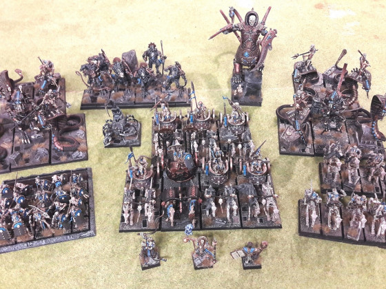 Undying Dynasties - Army for my first T9A Tournament