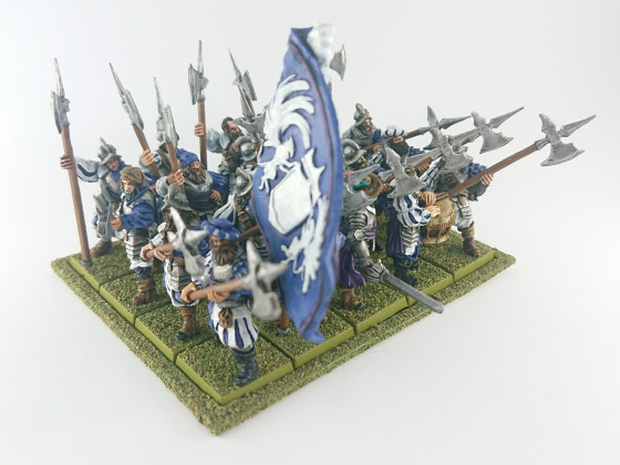 MOM Miniatures Halberdiers