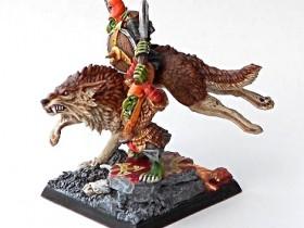 Hobgoblin wolf rider
