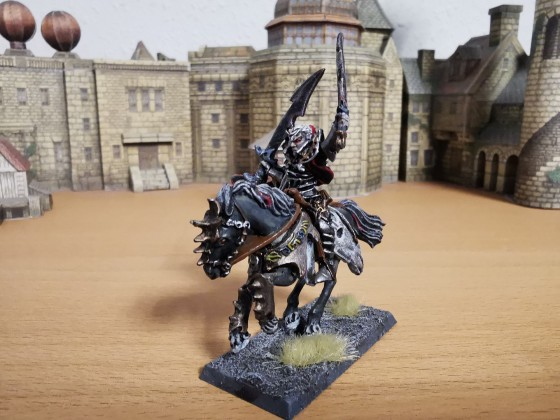 Dread Prince on Horse