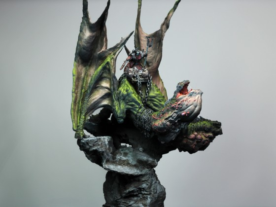Chosen Lord on Wasteland Dragon 1