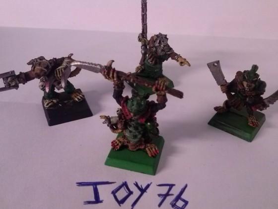 Vermin Swarms Heroes