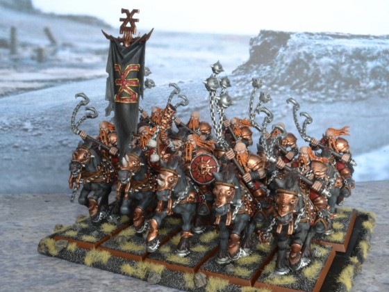 Wrath Mounted Barbarians