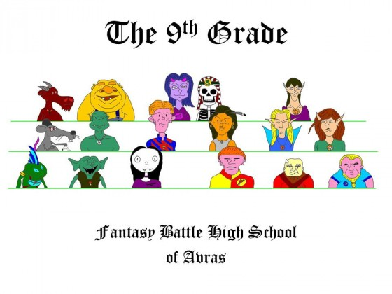 T9A comics: The 9th Grade »