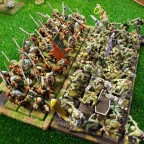 Imperial guard VS Ghouls