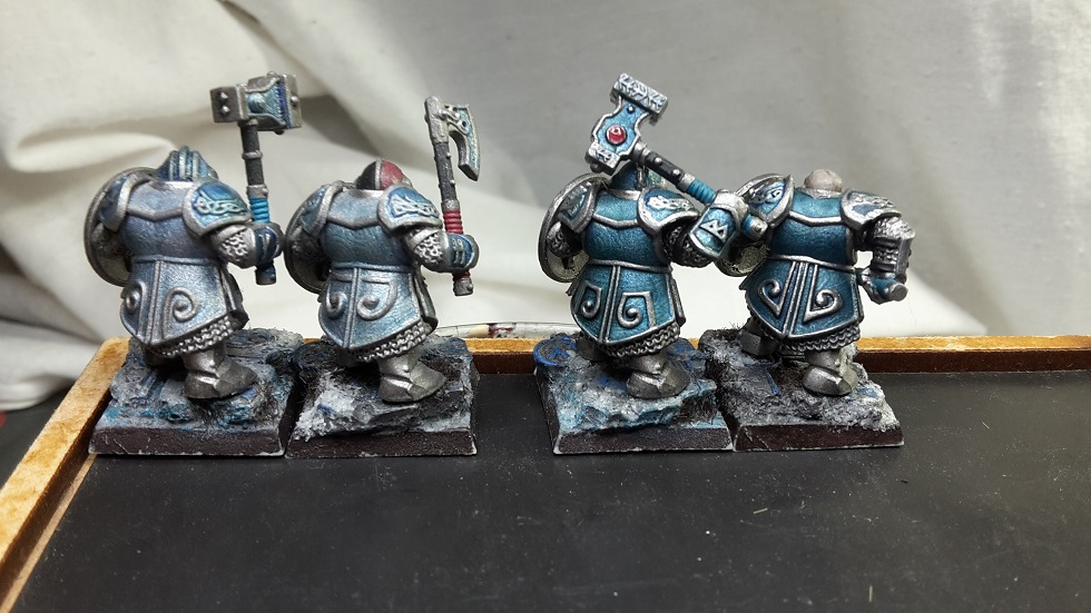 Old models touch up