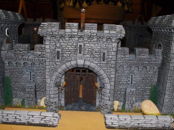 The fortress gate
