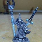 Necromancer with black sword