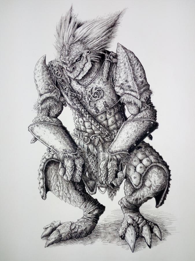 Saurian Ancient by DracarysDrekkar7