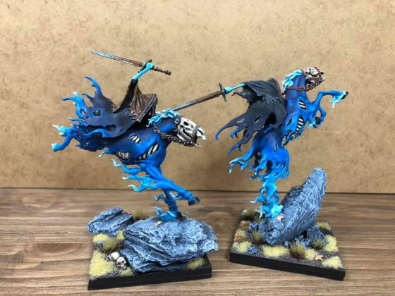 Mounted wraith