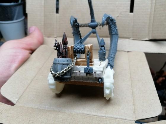 Scratch-built scratapult
