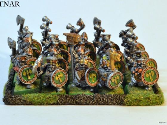 Dwarf Ironguard, metal OOP guys
