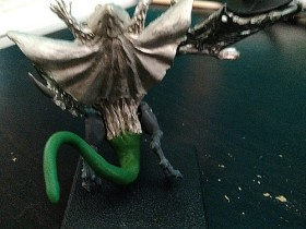Fungoid Wyvern - back view