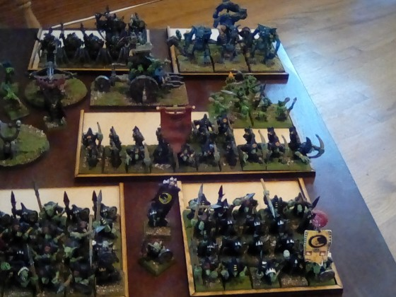 3000pt Army review before battle.