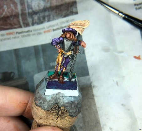 Lady Marshal from HF minis
