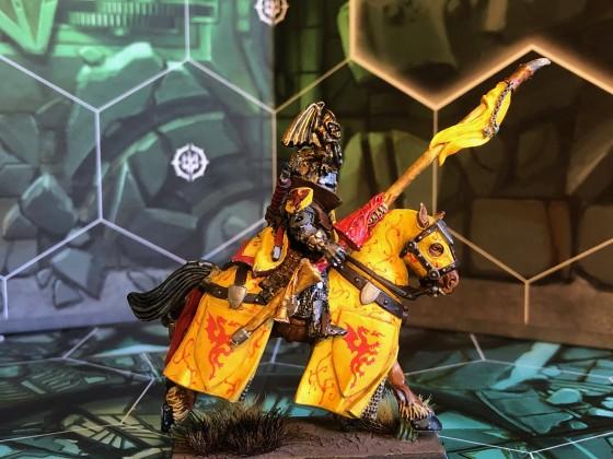Mounted Duke on horse 3
