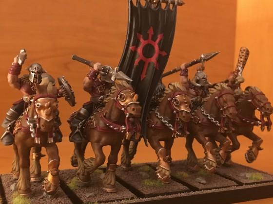 My first marauder horsemen (left)
