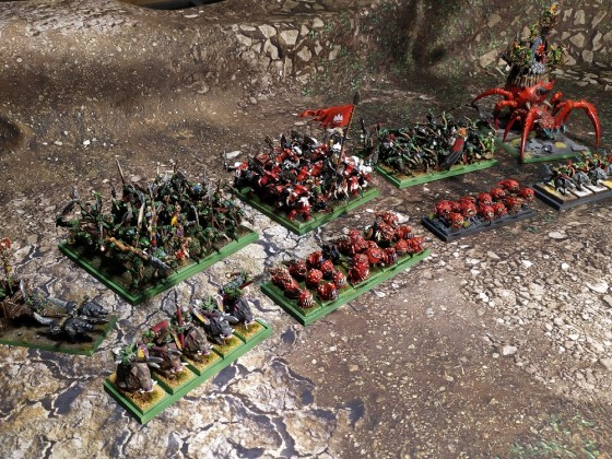 My ETC orcs & goblins army