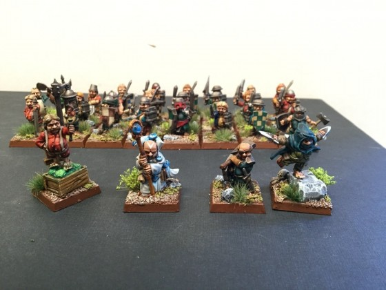 Halfling army characters