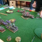 Ogre Khans deployment vs Dread elves