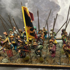 Heavy Infantry with spears