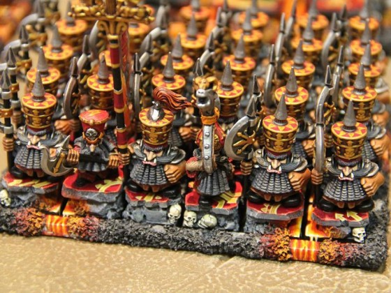 Infernal Dwarf Warriors