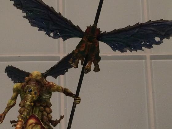 Harbinger on Fly with Battle Standard