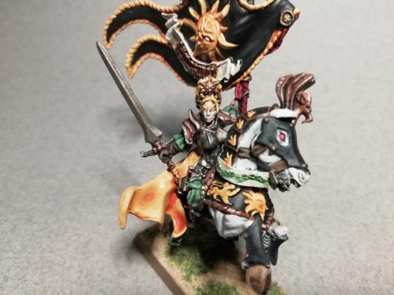 Marshal BSB on horse