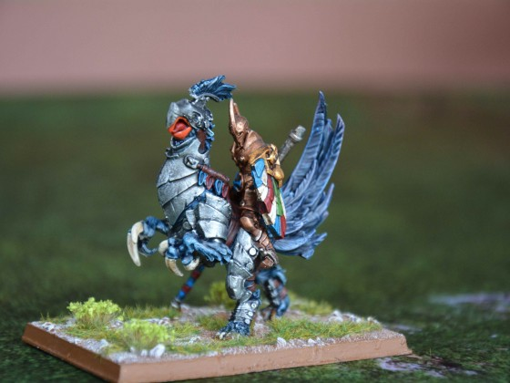 Knight Commander on Young Griffon