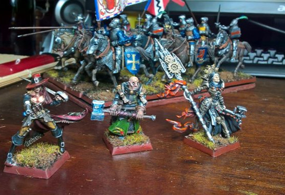 Ritter with Prelates and Inquisitor