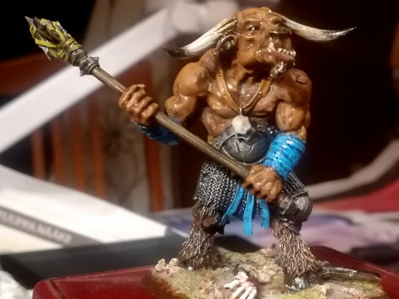 A Minotaur from Taginagruk Tribe