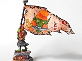 Hobgoblin warriors' standard