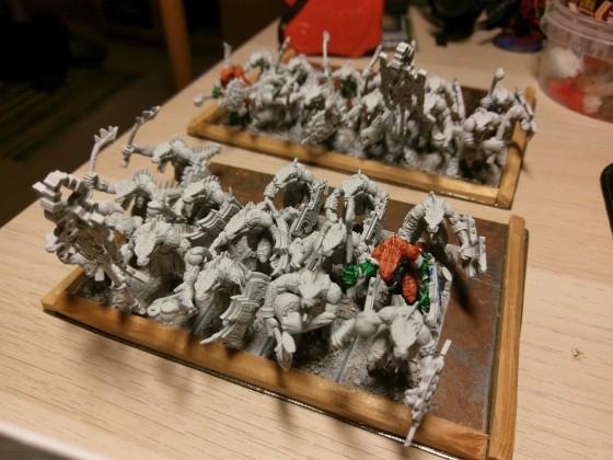 Saurian Warriors
