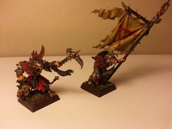 Vermin Guard Champion & Standard Bearer