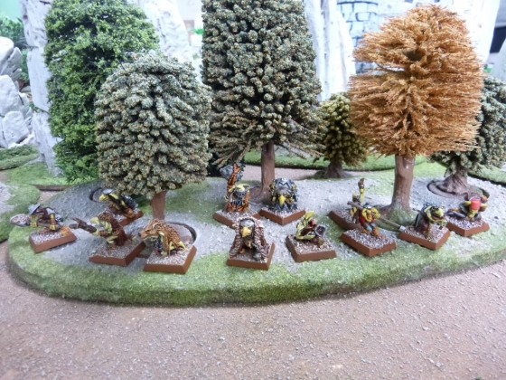 "Unit of Hill Goblins according to Cédric Greengoffik"""