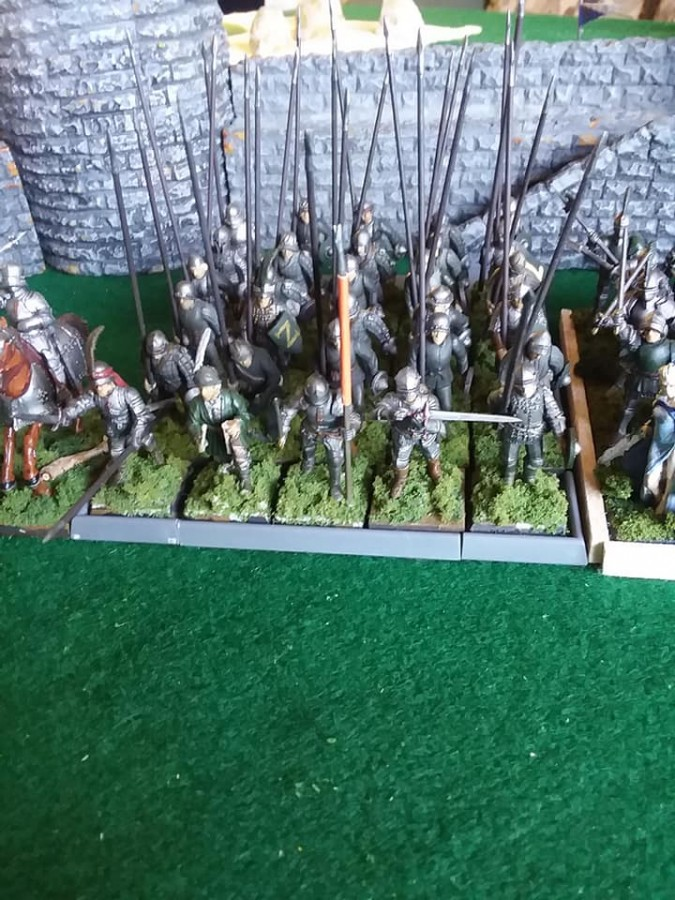 Uradel's Army - spears(pikes)