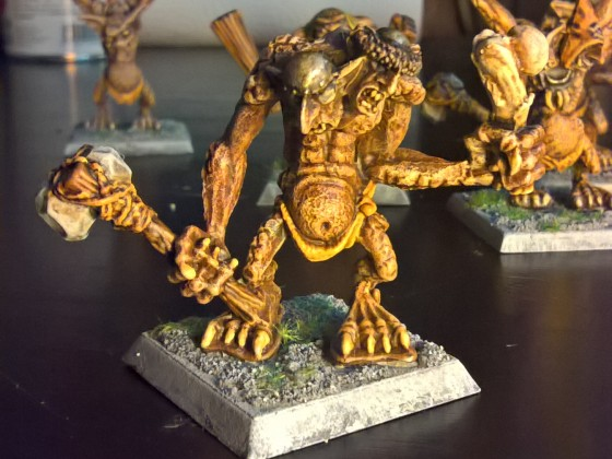Two Headed Bog Troll