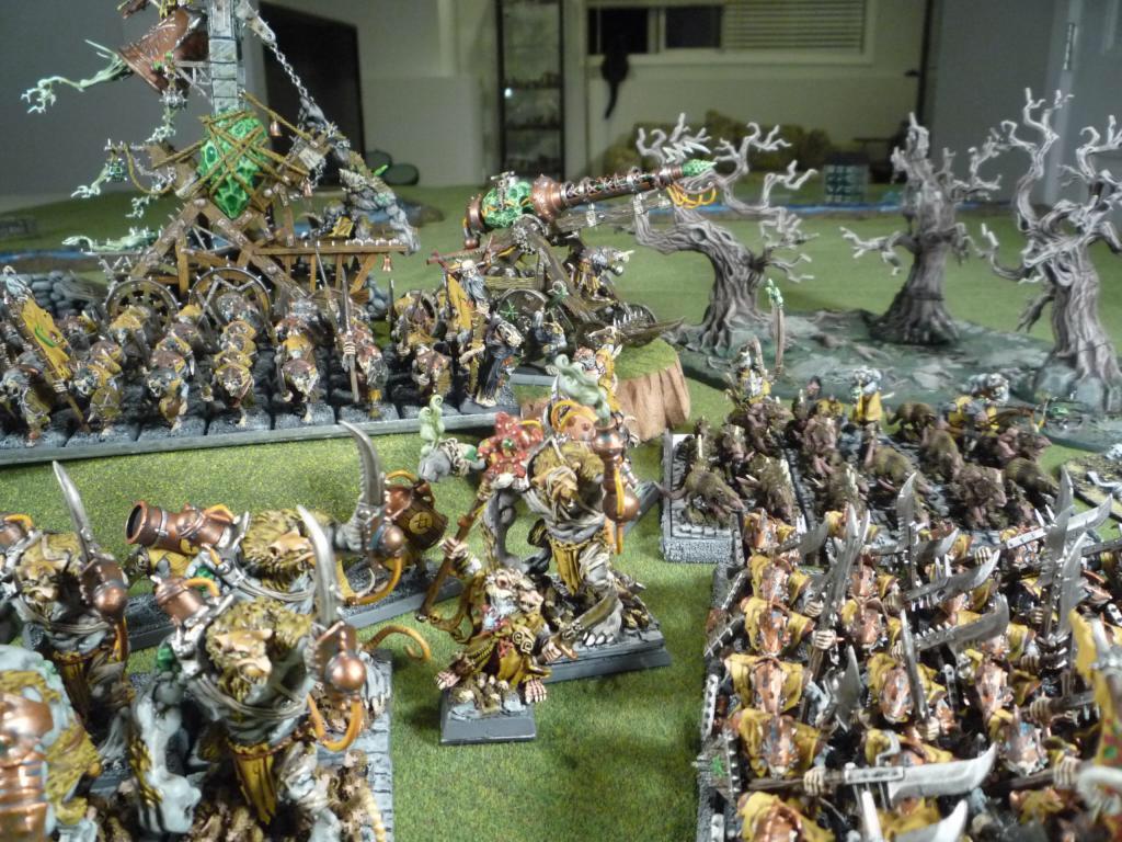 The threatening swarm of Clan Stayner