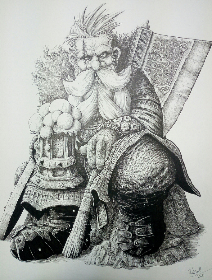 Norse Dwarf by DracarysDrekkar7