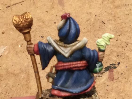Halfling wizard Jafar