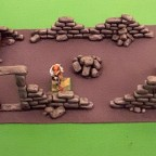 Custom-made ruin terrain for 9th age