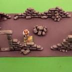 Custom-made ruin terrain for 9th age