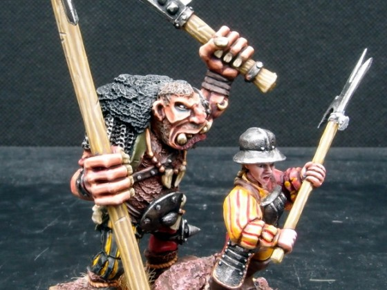 Halberdier second Ogre