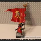 Heavy Infantry Battalion Standard Bearer - Stalin & Lenin